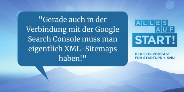 XML-Sitemaps: Alles, was Du wissen musst! [Alles auf Start 36]